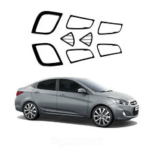 New Carbon Interior Molding Set Trim K229 for Hyundai ACCENT 4/5door 2012-2013