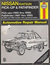 NISSAN PICK-UP & PATHFINDER 2.0 2.4 3.0 PETROL 1980 - 1995 OWNERS REPAIR MANUAL