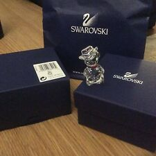 Swarovski International Kris Bear Johnny USA Cowboy 883413 Mint in Box,  Retired