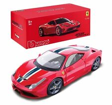 Bburago 1:18 FERRARI Signature Series 458 SPECIALE Diecast Car Model Red