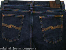 Nudie tight long john org twill rinsed jeans N867 W33 L32 (a159)