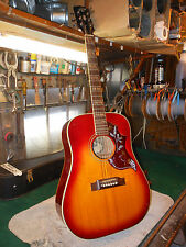 Vintage Conqueror Accoustic Hummingbird Large size high action...