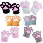 Cos Cat Bear Plush Paw Claw Gloves Cute 1 Pair Anime Costume Halloween Party Hot