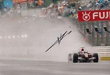 Neel Jani Hand Signed 12x8 Photo Scuderia Toro Rosso F1 2.