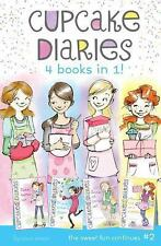 Cupcake Diaries 4 Books in 1! #2: Katie, Batter Up!; Mia's Baker's Dozen; Emma A