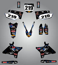 Yamaha YZ 250 UFO PLASTICS - 2002 / 2014 Full Graphic kit Barbed Style Stickers