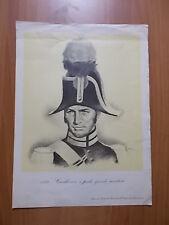 stampa CARABINIERE a piedi, grande montura (1833)