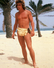 WILLIE AAMES PARADISE 8X10 PHOTO BARECHESTED IN LOIN CLOTH HUNKY