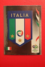 PANINI FIFA WORLD CUP GERMANY 2006 06 N. 322 ITALIA BADGE  MINT!!!