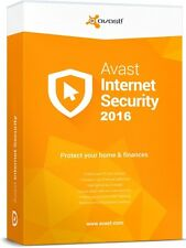 Avast Internet Security 2016 | License for 1 Year Subscription on 1 Windows PC
