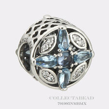Authentic Pandora Silver Patterns of Frost Multi-Colored CZ Bead 791995NMBMX