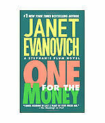 One for the Money 1 by Janet Evanovich (2003, Paperback) Funny Cozy Mystery!