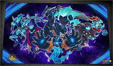 FREE SHIPPING Custom Yugioh Playmat Phantom Knights Yugimation Break Sword