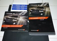 2014 DODGE CHARGER USER GUIDE OWNERS MANUAL SET DVD w/case 14