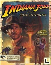 "Indiana Jones and the Fate of Atlantis 5.25"" (Atari ST, 1992) MIB LucasArts"