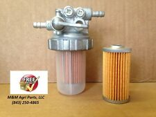 FUEL FILTER BOWL SHUT OFF ASSEMBLY YANMAR JOHN DEERE KUBOTA ISEKI CASE IH FORD
