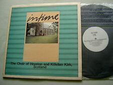 In Time: MOZART/BACH etc The Choir of Houston & Killellan Kirk private press LP