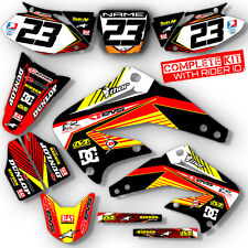 2007 - 2015  HONDA CRF 150R DIRT BIKE GRAPHICS KIT CRF150 MOTOCROSS DECALS DECO