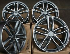 "18"" ALLOY WHEELS FITS AUDI A5 A6 A7 A8 MERCEDES ML GL VW PHAETON RS 6C GMF"