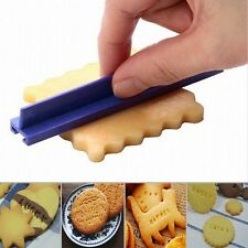 Cake Alphabet Letter Number Cookie Press Stamp Embosser Cutter Fondant Mould
