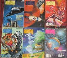 28 Issues Analog Science Fiction Science Fact 1977-1979 Fantasy Sci Fi
