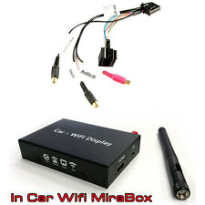 BMW 3 5 Serie X5 AUDIO VIDEO input lead con Specchio Link SMARTPHONE interfaccia