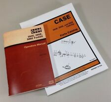 CASE 584E 585E 586E FORKLIFTS FORK LIFT OPERATORS PARTS MANUAL EXPLODED VIEWS
