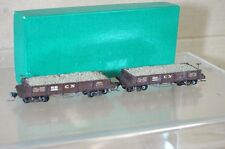 BINKLEY KIT BUILT HOn3 NARROW GAUGE COLORADO NORTHERN CN ORE WAGON & LOAD x2 nd