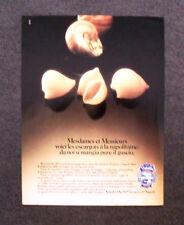 [GCG] N009 - Advertising Pubblicità - 1985 - VOIELLO,DAL 1879 LA PASTA DI NAPOLI