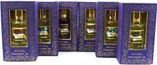 6 x 10 ml Bottles Song of India Natural Fragrant Perfume/Burner Oil-Variety