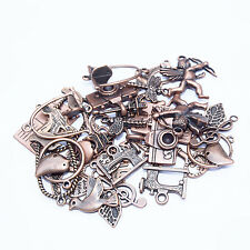 25g (20+) Antique Copper Pendants Charms Random Mix Jewellery Making