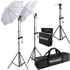 Neewer 5500K Studio Umbrella Continuous Lighting Kit f Portrait Photography