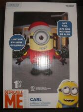 universal 9 ft x 787 ft lighted minion christmas inflatable despicable me carl - Minion Outdoor Christmas Decorations