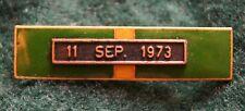 Chile Police Barras pin medal 11 de septiembre 1973 president Pinochet grado 3 b