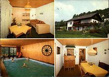 BÜHLERTAL AK gebraucht Haus Sator Längenbergweg Postkarte alte Postleitzahl 7582