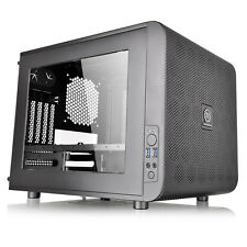 Thermaltake Core V21 Gaming Micro ATX Mesh Black Cube E-sport Stackable Case