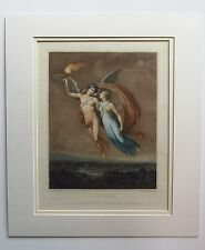 LOVE HEALED - 1798 Proof Mezzotint Engraving - Publ by John Young