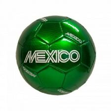 MEXICO Soccer Ball Mexican National Team Green Soccer Ball PVC SIZE 4 10 and up!