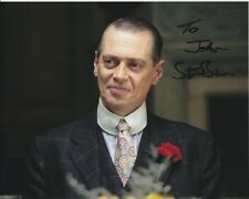 STEVE BUSCEMI Signed BROADWALK EMPIRE NUCKY THOMPSON Photograph - To John