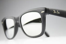 VINTAGE 80's Ray Ban *WAYFARER FOLDING EDIT * BL MIRROR sunglasses U.S.A EXC!
