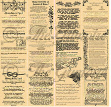 12 MONEY & WEALTH RITUALS, Book of Shadows Spell Pages, Wicca, Witchcraft