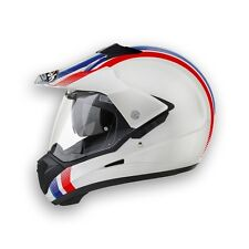 CASCO MOTO AIROH S5 LINE WHITE GLOSS BIANCO LUCIDO GS MULTISTRADA ADVENTURE TG S