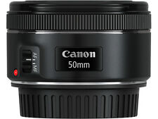 Canon EF 50mm F/1.8 STM Zoom-Camera Lens - SLR, 6/5, Telephoto, EOS, 0.21x