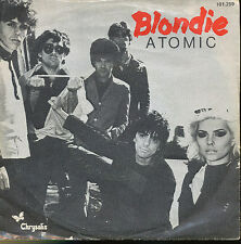 BLONDIE 45 TOURS HOLLANDE ATOMIC