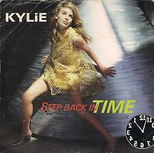 DISCO 45 Giri  Kylie Minogue - Step Back In Time