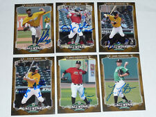 JAKE PARTRIDGE Bowling Green Signed 2012 Midwest League MWL All Star AUTO