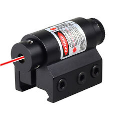 Tactical Red Laser Sight For Rifle Scope Airsoft 20mm Weaver Picatinny Mount New