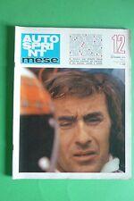 AUTOSPRINT MESE 12/1973 JACKIE STEWART +POSTER HULME JARIER RENAULT ALPINE A 310