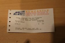 STATUS QUO from 2003 USED TICKET STUB @ NEWCASTLE CITY HALL