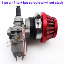 Pocket Bike Carburetor Air Filter Stack 47cc 49cc Mini Moto ATV Dirt Go Kart